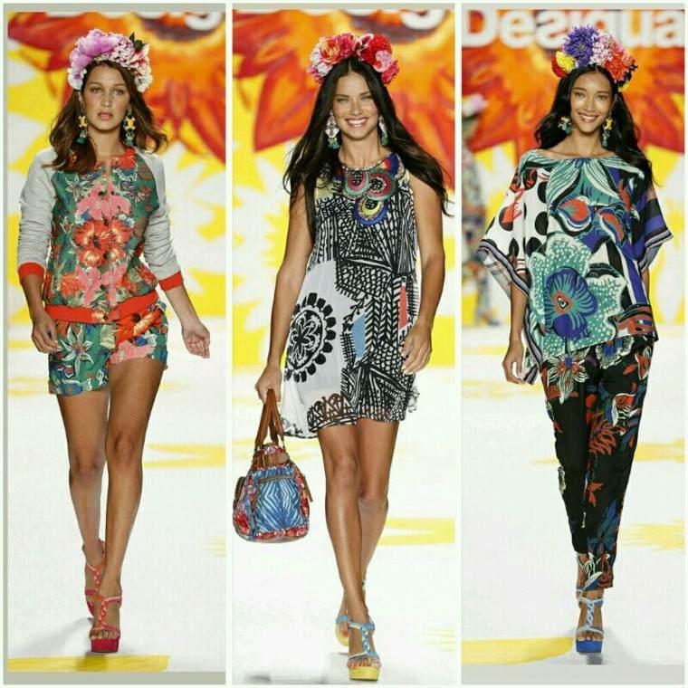 Colección Desigual vestidos primavera