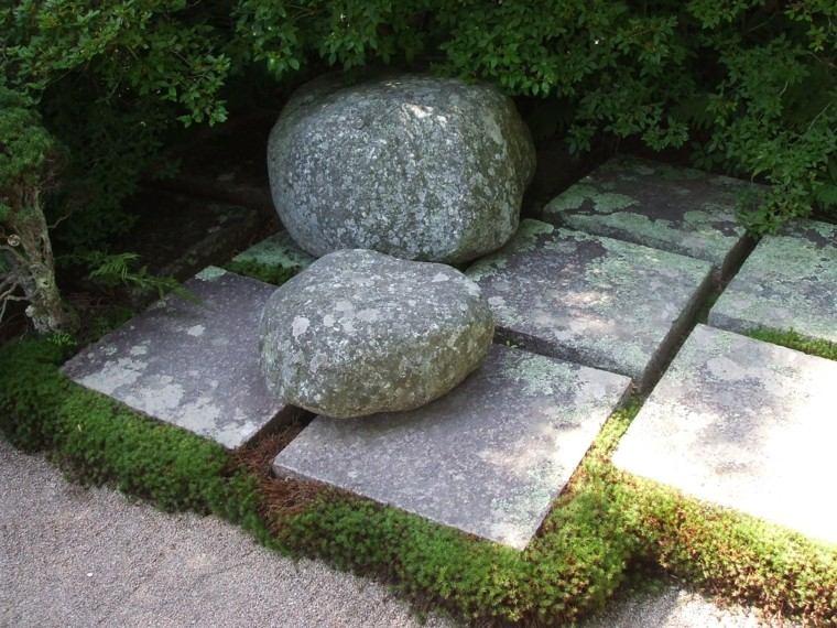 diseño decoracion jardin rocas