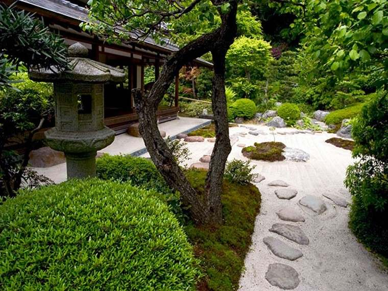 diseño arquitectura jardin zen