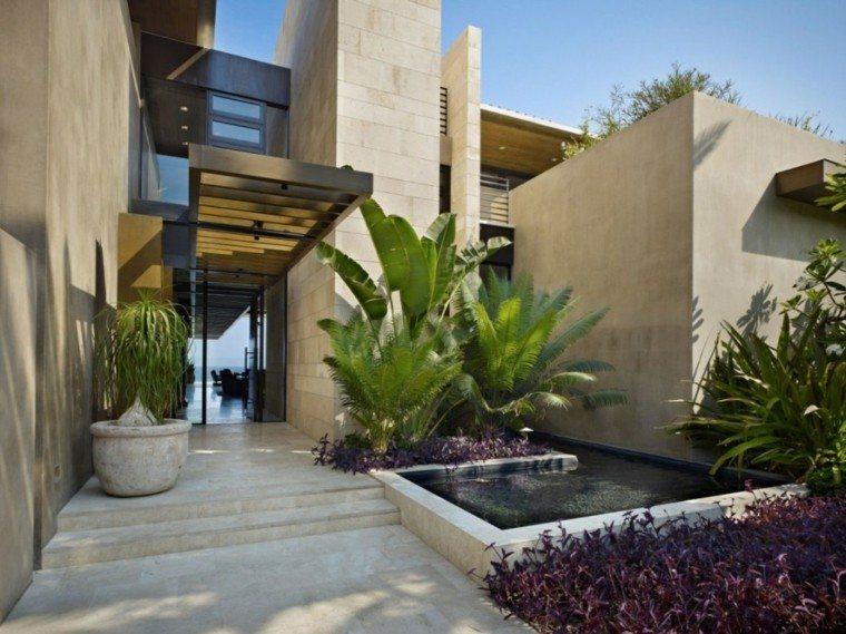 diseño moderno jardines japoneses zen