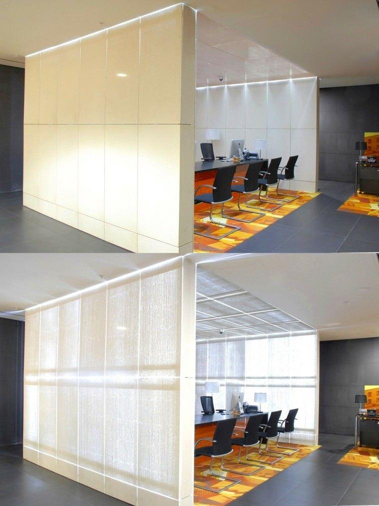 diseno moderno oficina pared hormigon idea increible