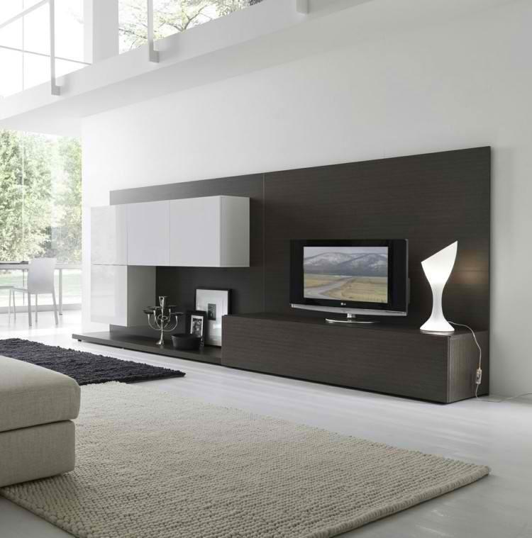 diseño muebles patio alfombra lampara moderna