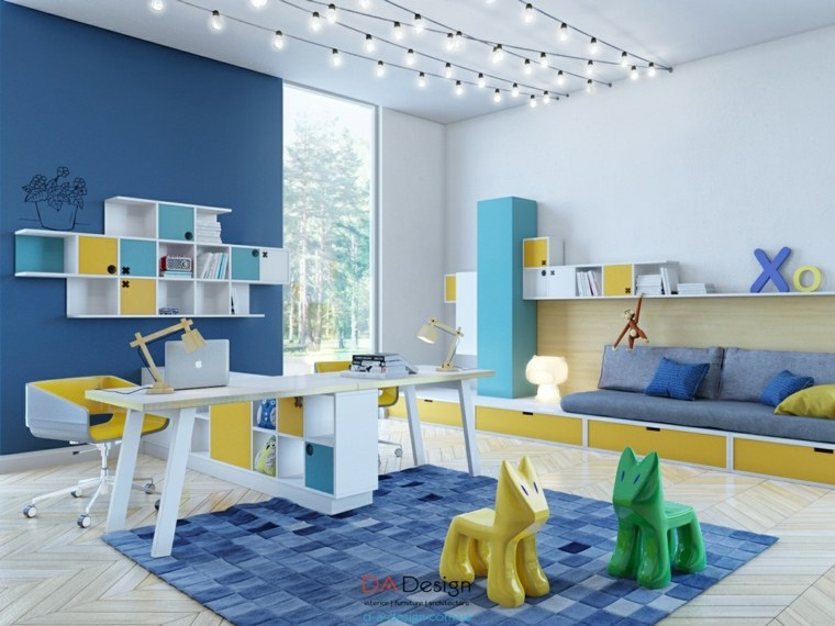Dormitorios juveniles con lo último en tendencias