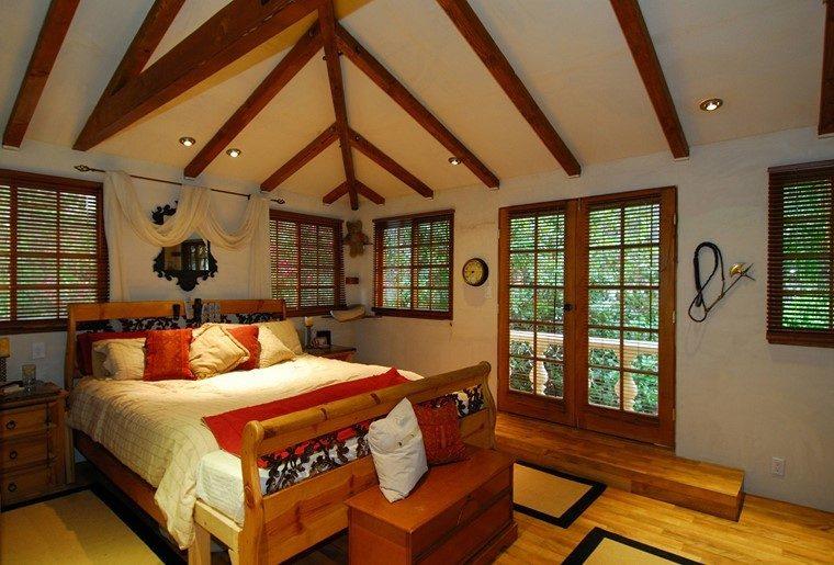 diseño rustico moderno ideas modernas dormitorio