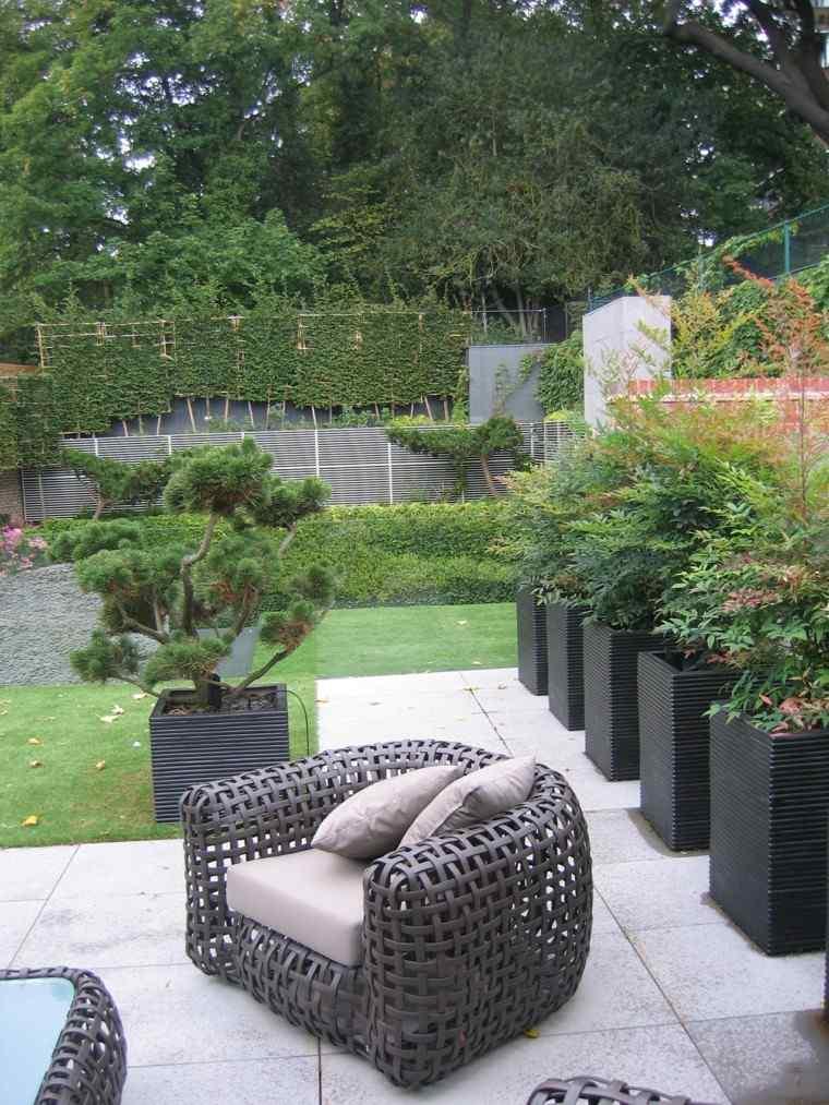 Jardines modernos bonitos v rias id ias de for Muebles jardin modernos