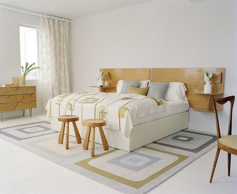 diseno minimalista dormitorio cabecero ideas cama