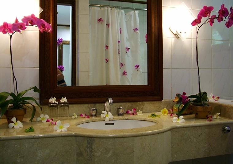 diy flores macetas decorar espejo