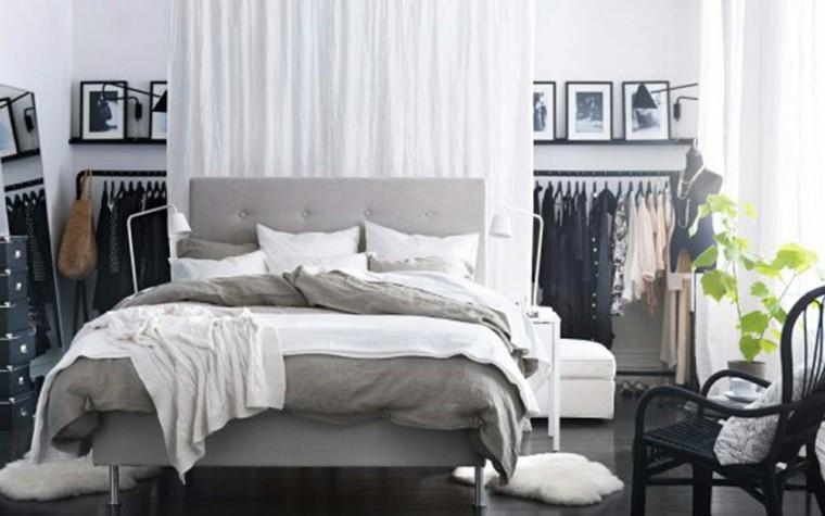 dormitorio chico soltero color gris