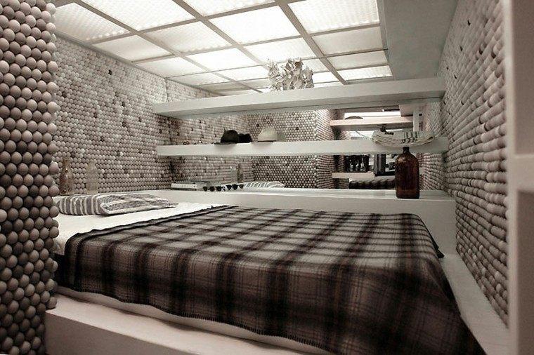 dormitorio ultra moderno para solteros