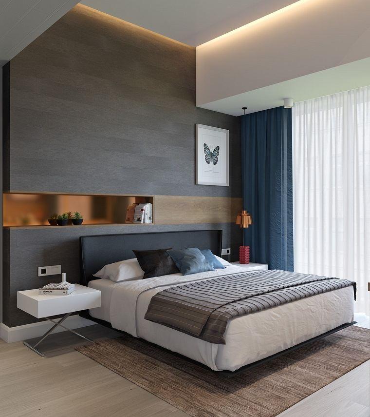 Habitaciones modernas para solteras y solteros for Comodas modernas para dormitorio