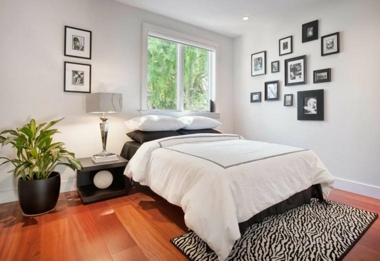 dormitorio solteros suelo parquet madera