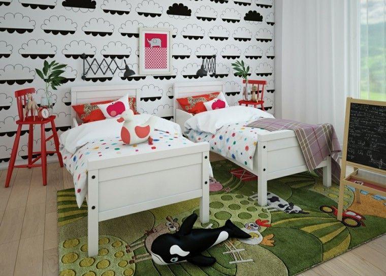 Dormitorios infantiles de diseño moderno y original