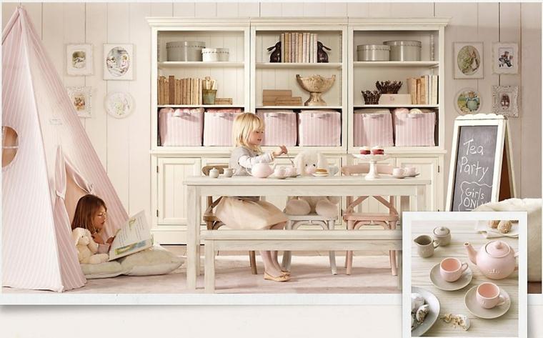 dormitorios infantiles para niñas juegos pizarra muebles