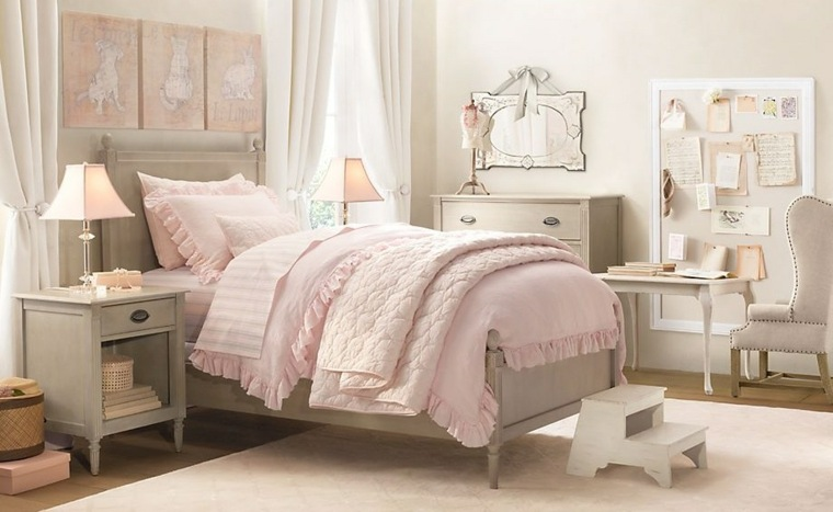 Dormitorios infantiles para ni as tradicionales y - Dormitorio infantil nina ...