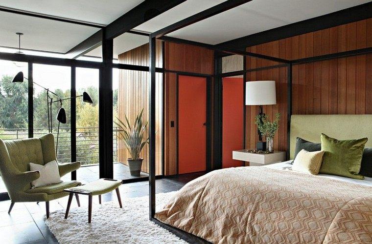dormitorios modernos luminoso ambiente relajante butaca
