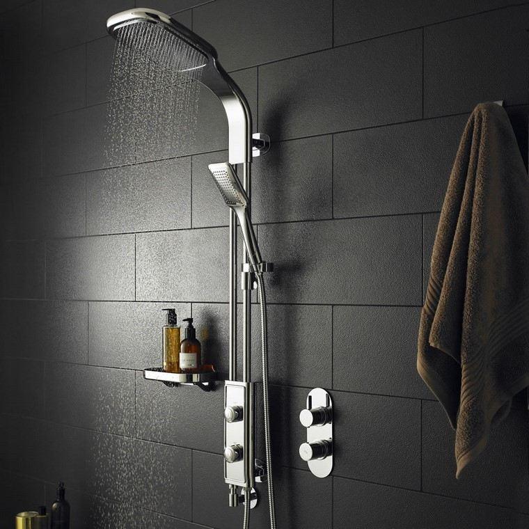 decoración baños ducha bonita baño agua masaje relax ideas