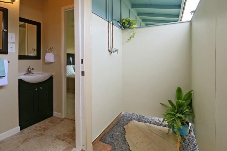 duchas para exteriores patio trasero obra