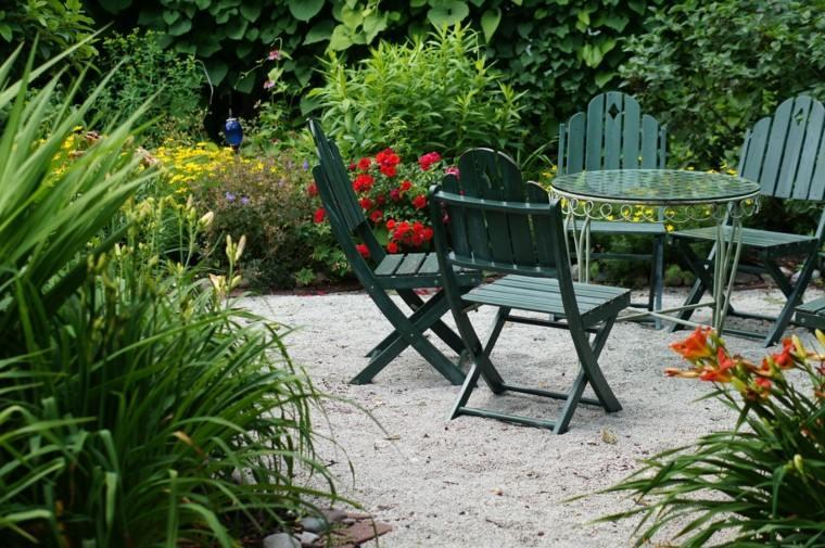 el tiempo ideas jardin muebles plantas cristal