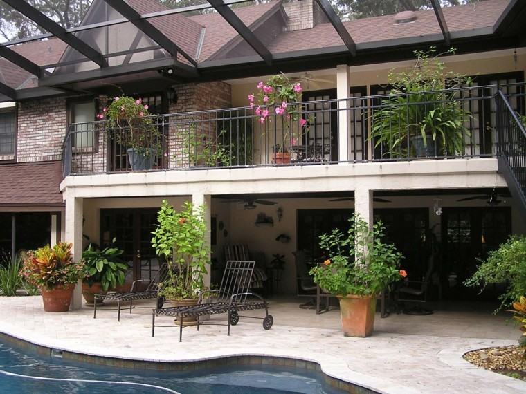 el tiempo terraza lista primavera ideas piscina