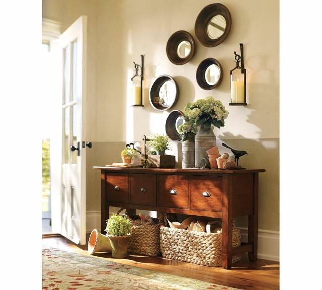 Muebles de entrada ideas que invitan a remodelar for Espejos en la entrada de la casa