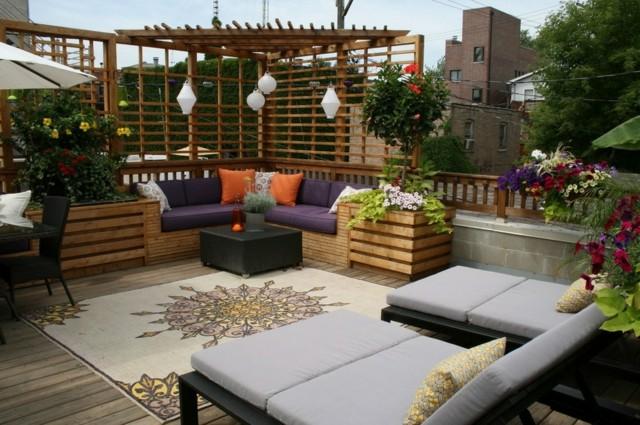 terrazas urbanas con espacios distintos de ralajacin