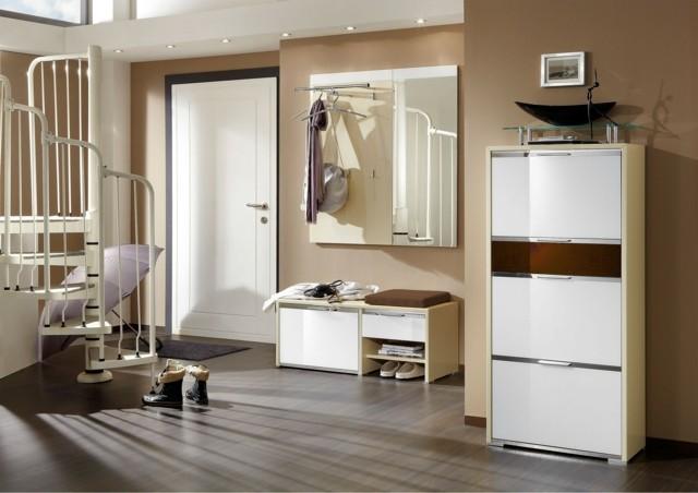Espejos blancos castanuela grande blanco espejo marco for Espejo grande blanco