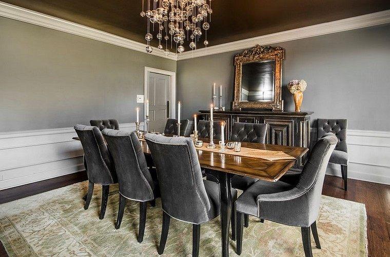 espejo mesa silla elegante estilo