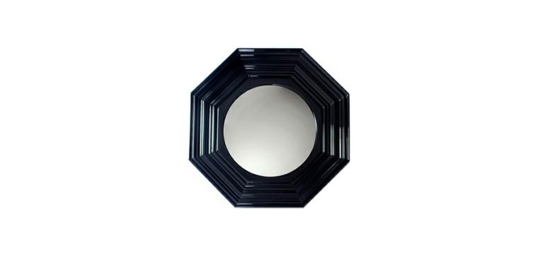 espejo color negro baño lujo