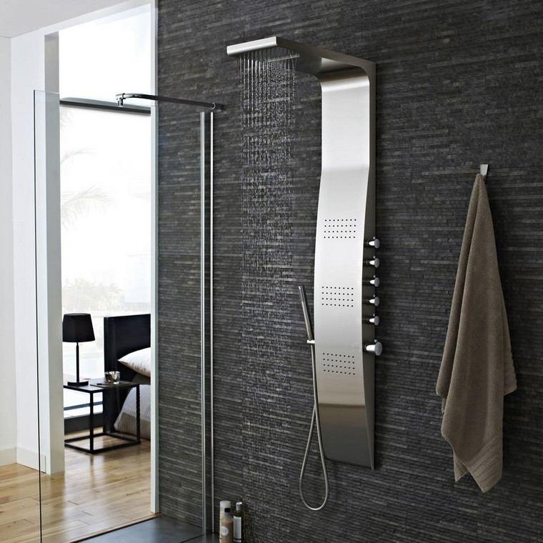 decoraci n ba os con duchas de dise o. Black Bedroom Furniture Sets. Home Design Ideas