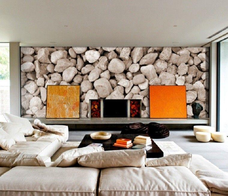 estilo bohemio estampa sofa muebles comods salon cuadros