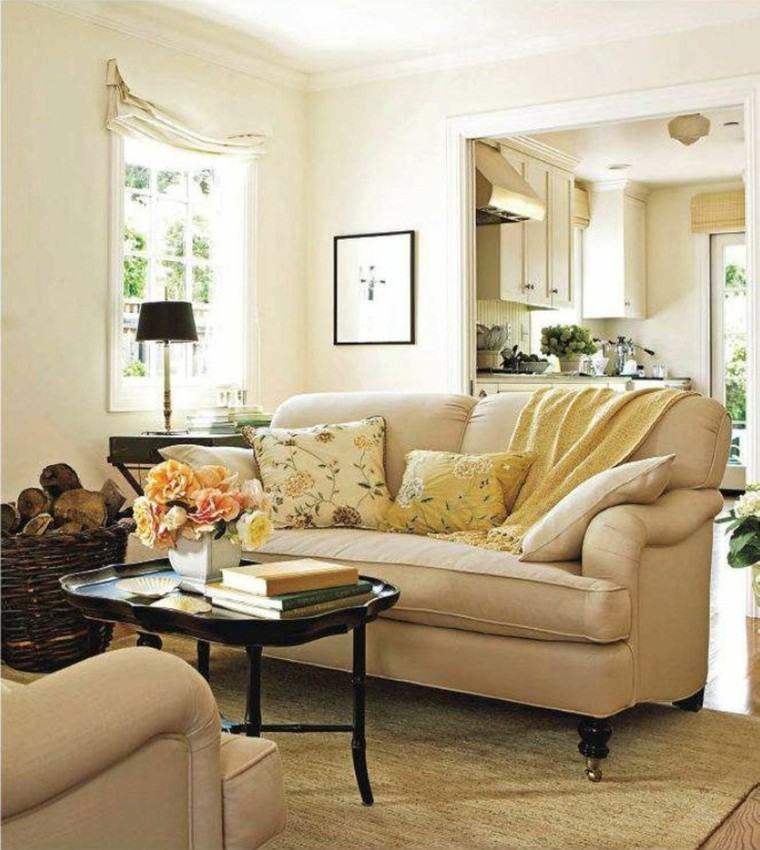 estilo bohemio sofa beige comodo ideas mesa