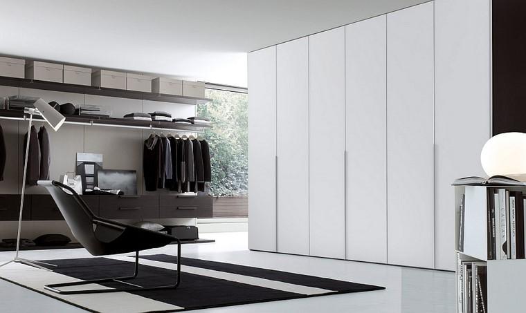estilo contemporaneo combinacion armario amplio empotrado