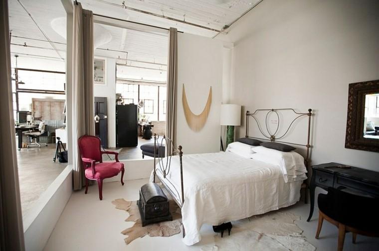 estilo industrial moderno dormitorio cama acero diseo