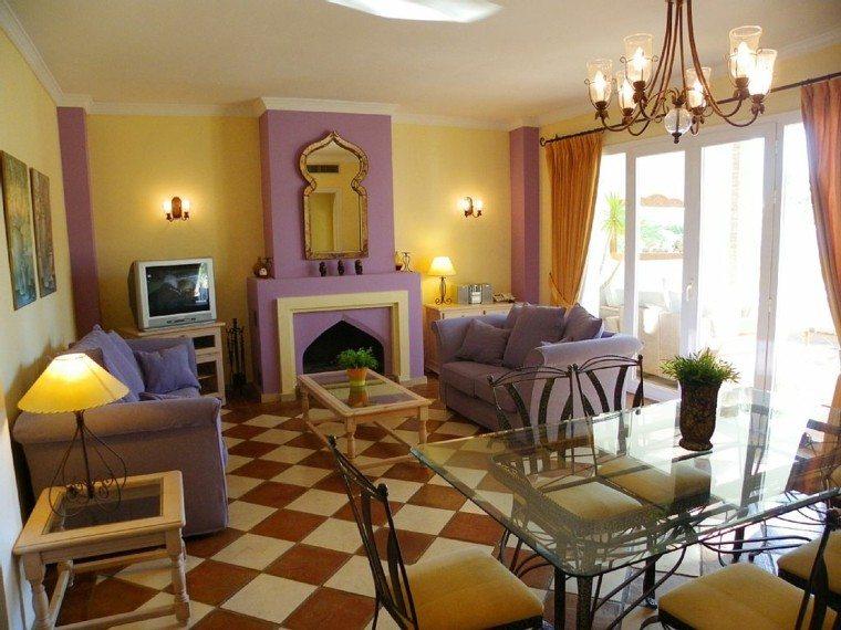 estilo marroqui ideas simples purpura toques
