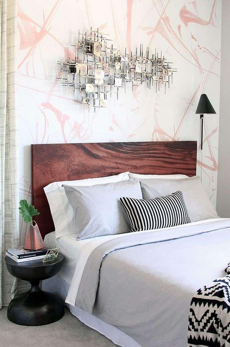 estilo moderno dormitorio cama cabecero estiloideas