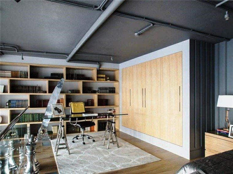 estudio piso soltero escritorio loft