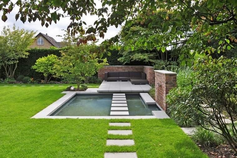 Arquitectura y dise o de jardines modernos for Disenos de jardines modernos pequenos