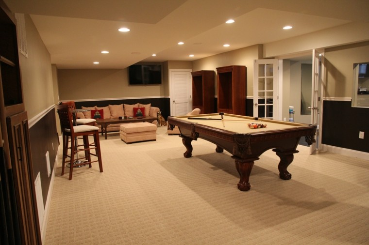 Ideas For Pool Table Room Dining Combo Bathroom