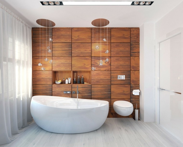 estupendo baño diseño moderno laminado