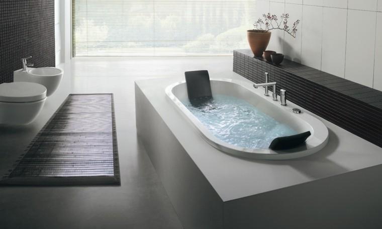 estupendo baño moderno bañera zen