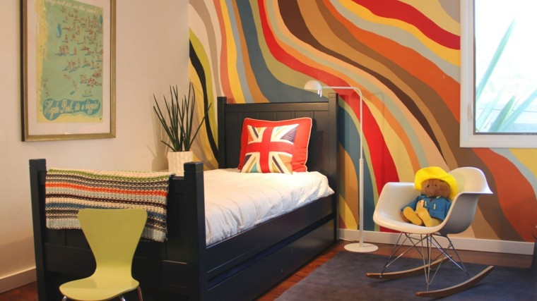 estupendo dormitorio juvenil peluche soltero