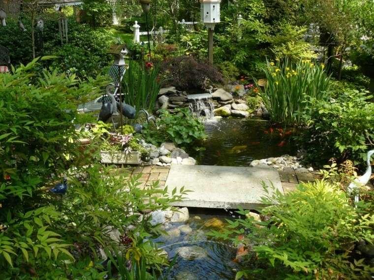 estupendo jardin puente piedra plantas