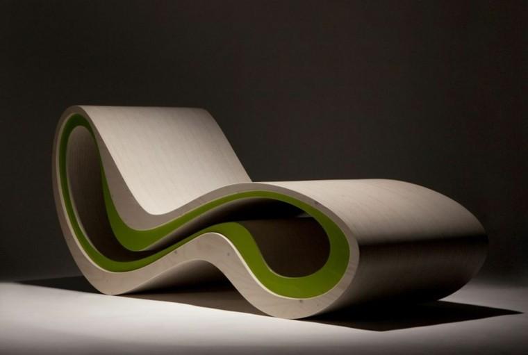 estupendo sillon tumbona mecedora moderna