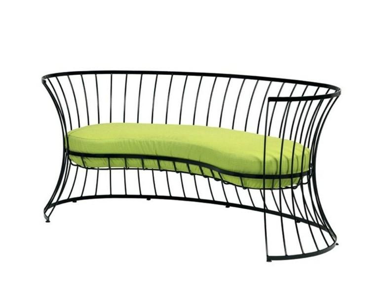 ethimo clessidra color verde respaldo