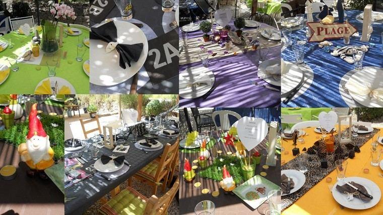 decoración de terrazas para fiestas adornos muebles