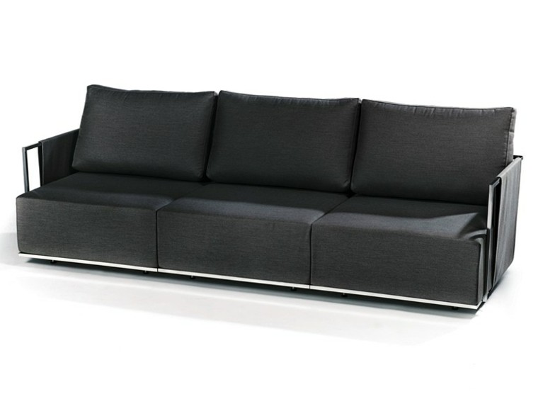 fischer color negro sofas