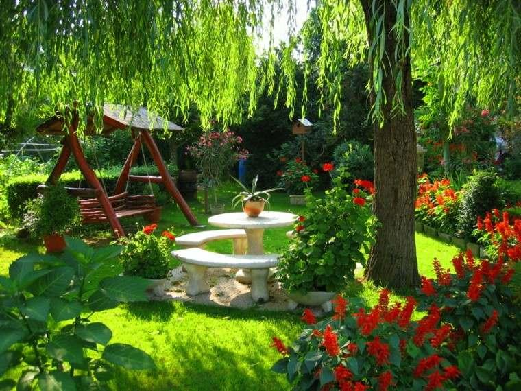 Flores bonitas que no deben faltar en el jard n - Jardines con rosas ...