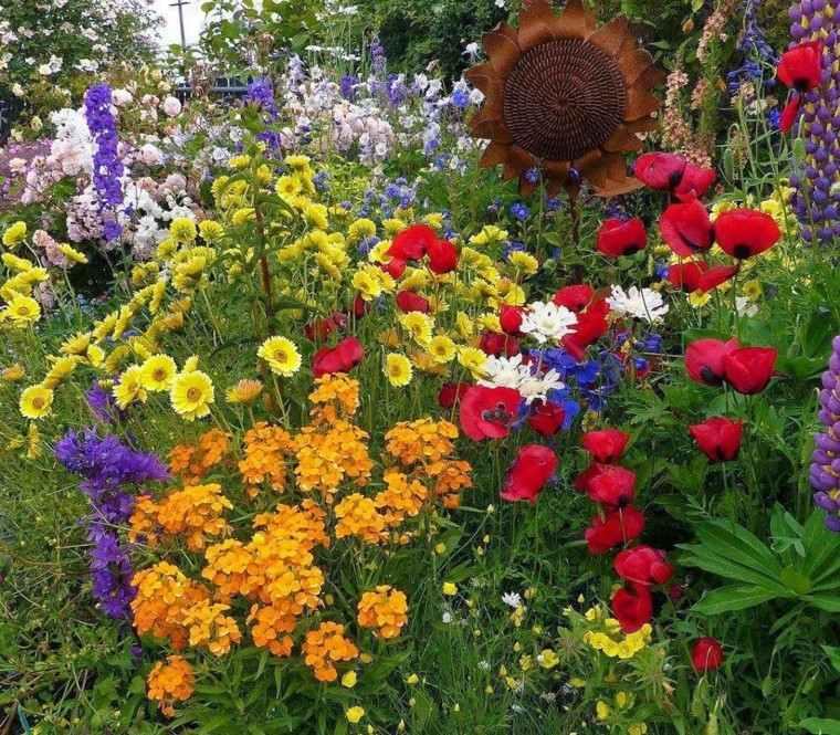 flores bonitasiverano jardin variedad colores ideas