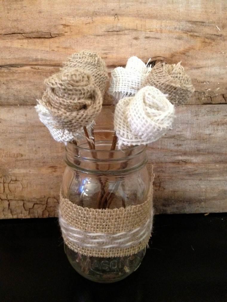 Cuerdas de cáñamo para decorar cuencos y jarrones