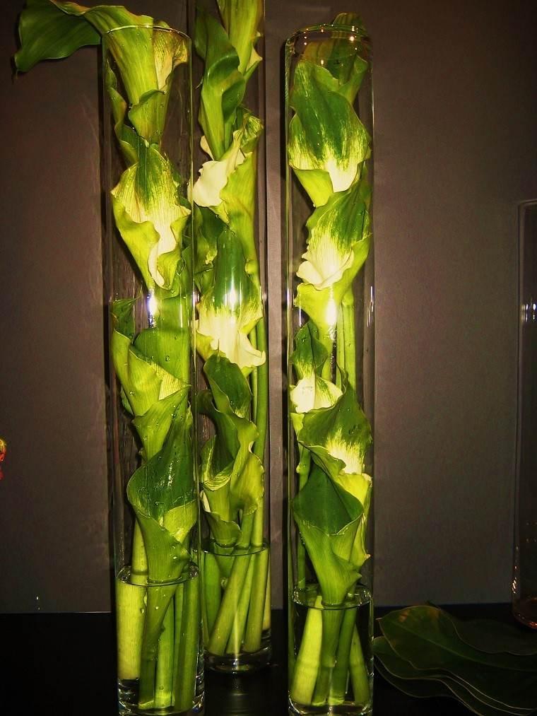 flores ramos jarrones decorativos ideas moderno